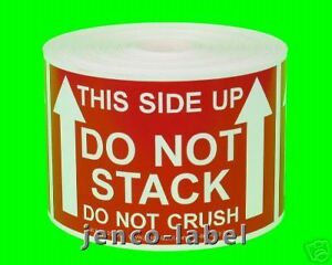 Ml23109 500 2x3 This Side Up Do Not Stack Labels