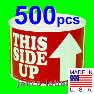 Ml35120 500 3x5 This Side Up Labels sticker