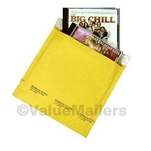250 cd 7 25x8 Kraft Bubble Lite Mailers Cd Rom Envelopes