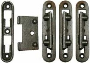 Furniture Repair Parts Cast Iron Bed Rail Ends F9425