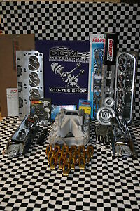 Sbf 351w Aluminum Head Roller Cam Ford Top Engine Kit