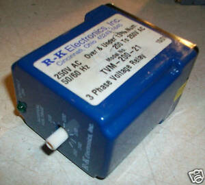 Rk Electronics 3 Phase Voltage Relay Tvm 200 21