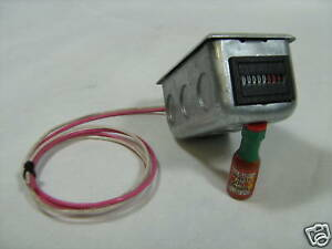 Waste Oil Heater Parts Hour Meter W mounting Box 10011wb Great For Lanair 120 V