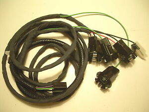 1962 62 Chevy Impala Rear Deck Lid Trunk Wiring Harness