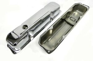 Chrysler Dodge Plymouth Mopar Big Block 383 400 440 Chrome Valve Covers Oe Style