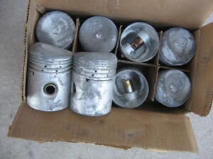 Pistons 1941 1947 1948 1949 1950 Buick Straight Eight Size Is 040