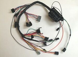 1963 63 Impala Under Dash Wiring Harness With Fuse Box Automatic Powerglide