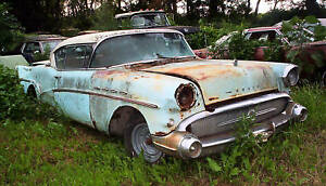 57 Buick Super 2 Door Hardtop Parting Out many Parts