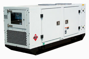 New surplus Genmac 19kw Natural Gas Lpg Generator Standby Unit
