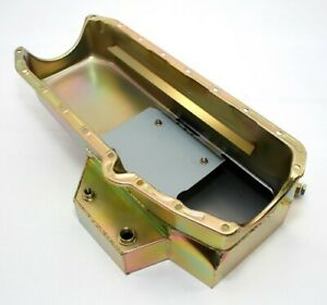 Chevy Small Block 350 383 400 Champ Style Zinc Plated Oil Pan 8 Quart 8qt Imca