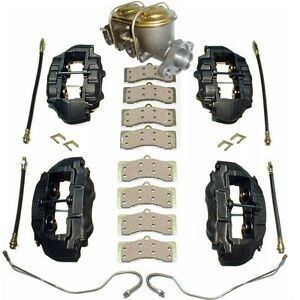 1977 82 Corvette Complete Brake Kit With Ss Calipers