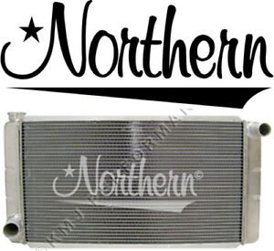 Northern 209622 Ford Mopar Universal Aluminum Racing Radiator 28 X 16 Race Pro