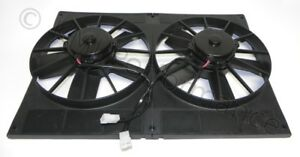 Dual 11 Electric Radiator Twin Cooling Fans With Shroud Extreme Cooling 2870cfm
