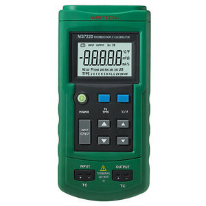 Ms7220 Thermocouple Calibrator Compared 714
