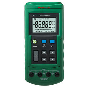 Ms7222 Thermocouple Calibrator Compared 712