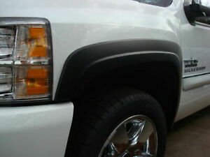 Fender Flares Fits 2007 2013 Chevrolet Silverado Crew And Extended Cab Short Bed