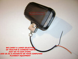 Hid Light Work Lamp Flood 35 W For Tractor Massey Deere Jcb Case Ih New Holland