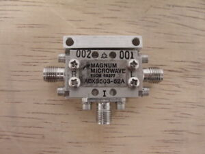 Magnum Microwave Adx3503 52a Rf Mixer Switch Module Sma