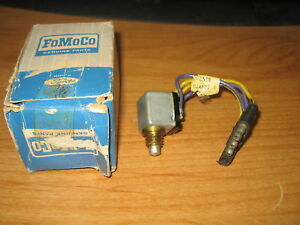 Nos Fomoco 1965 1966 Ford Thunderbird Convertible Deck Trunk Open Limit Switch