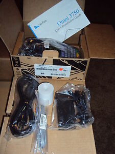 Brand New In Factory Box Verifone Omni 3750 Terminal Extended 4mg Memory