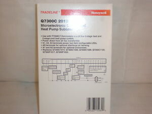 Honeywell Commercial Heat Pump Subbase Q7300c2012