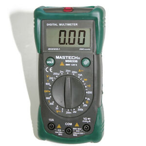 Mastech Ms8233b 19 range Multimeter Backlight Diode Ac Tester