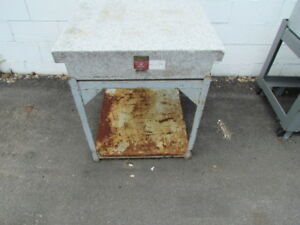 Herman Granite Surface Plate 30 X 30 W Stand W 098