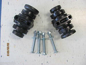 2 Disc Harrow Bearing Complete 1 Square W caps Bolts