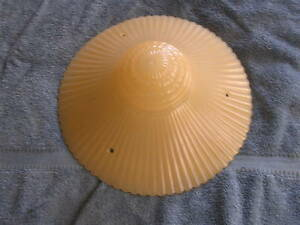 Vintage Antique Art Deco Glass Ceiling Light Lamp Shade