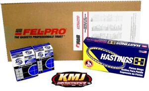 Chevy 350 Re ring Overhaul Rebuild Kit Moly 030 030 030