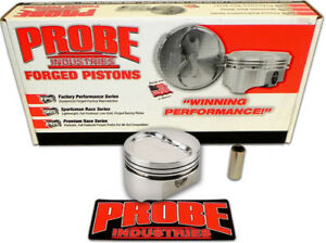 Probe 12344 060 Sbc Small Block Chevy 383 20 4cc Dished 5 7 Rod Pistons 060