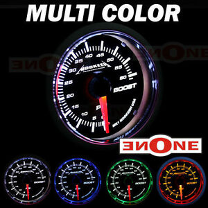 Mookeeh 2 1 16 Black 4 Color 60psi Turbo Boost Gauge