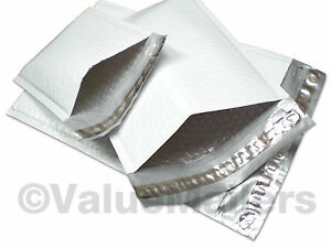 500 Cd Poly Bubble Mailers Envelopes 6 5x8 White