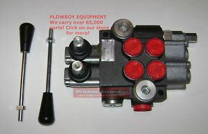Hydraulic Monoblock Spool Valve For Massey Ferguson Compact Tractor 9 Gpm