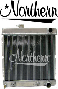 Northern 205030 Aluminum Radiator 1964 1 2 1966 Mustang 1960 1965 Comet W A T