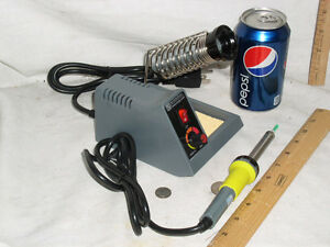 New Electronic Soldering Iron Station 50w 58w Free Shipping Xtra Tip solder Usa