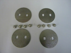 Holley Qft Aed 1 11 16 Stainless Throttle Plate 9 172