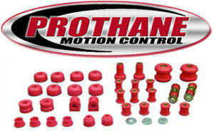Prothane 4 2002 1995 1999 Dodge Neon Complete Suspension Bushing Kit Red