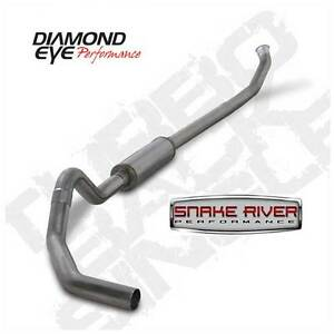 Diamond Eye 4 Stainless Exhaust For 04 5 07 Dodge Ram Cummins Diesel Turbo Back