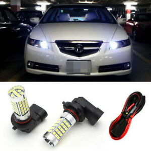 9005 Led Bulbs W Special Decoder For Acura Tl High Beam Daytime Running Lights