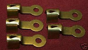 Brass Spark Plug Wire Ends Clips Crimp Terminals Fits Maytag Briggs Hit Miss