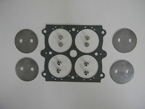 Holley Qft Aed Stainless Throttle Plate Kit 1 11 16 Plate No Hole 354 Plates