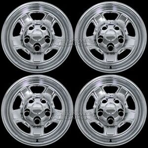 4 Chrome 2005 2011 Dodge Dakota 16 Wheel Skins Hub Caps Simulators Rim Covers
