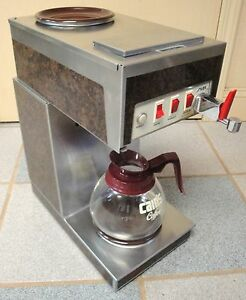 Silex 8540 Automatic Coffee Brewer With Filter And Pot