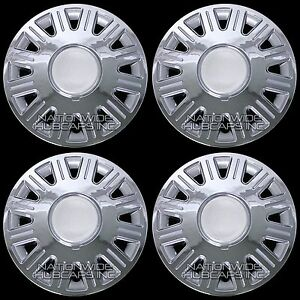 Set Of 4 New 98 08 Ford Crown Victoria 16 Hub Caps Full Rim Wheel Covers Hubs
