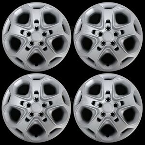 4 New 2010 2011 2012 Ford Fusion 17 Wheel Covers Rim Hub Caps 5 Spoke Full Hubs