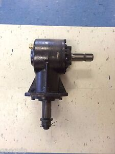 Replacement Rotary Cutter Gearbox 6 splined Input Shaft 40hp Free Shipping