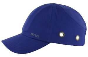 Titus Lightweight Safety Bump Cap Baseball Style Protective Hat Head Protection