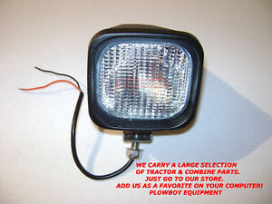 Wl8500 f Hid Work Light Trapezoid 35w Lamp Tractor Combine Skid Loader Backhoe