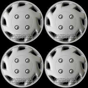 12 Set Of 4 New Hub Caps Full Wheel Covers Rim Trim Cap Cover For Steel Wheels